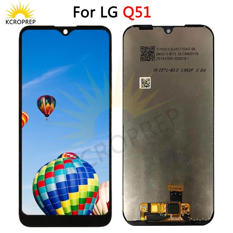 Para LG Q51 LM-Q510N LCD MONTAJE DE digitalizador con pantalla táctil piezas de repuesto accesorios para LG LM-Q510N Q50 LCD 100% probado