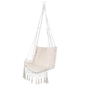 Nordic Style Hammock Safety Hanging Hammock Chair Swing Rope Outdoor Indoor Hanging Chair Garden Seat for Child Adult-Dropship