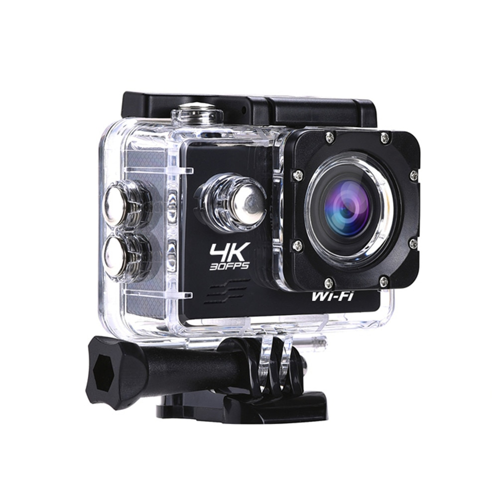 Cámara de Acción Full HD 4K AT-Q1 WiFi 2,0 pulgadas Mini deportes DV 30m cámara de grabación de vídeo impermeable 30FPS 1080P USB 2,0