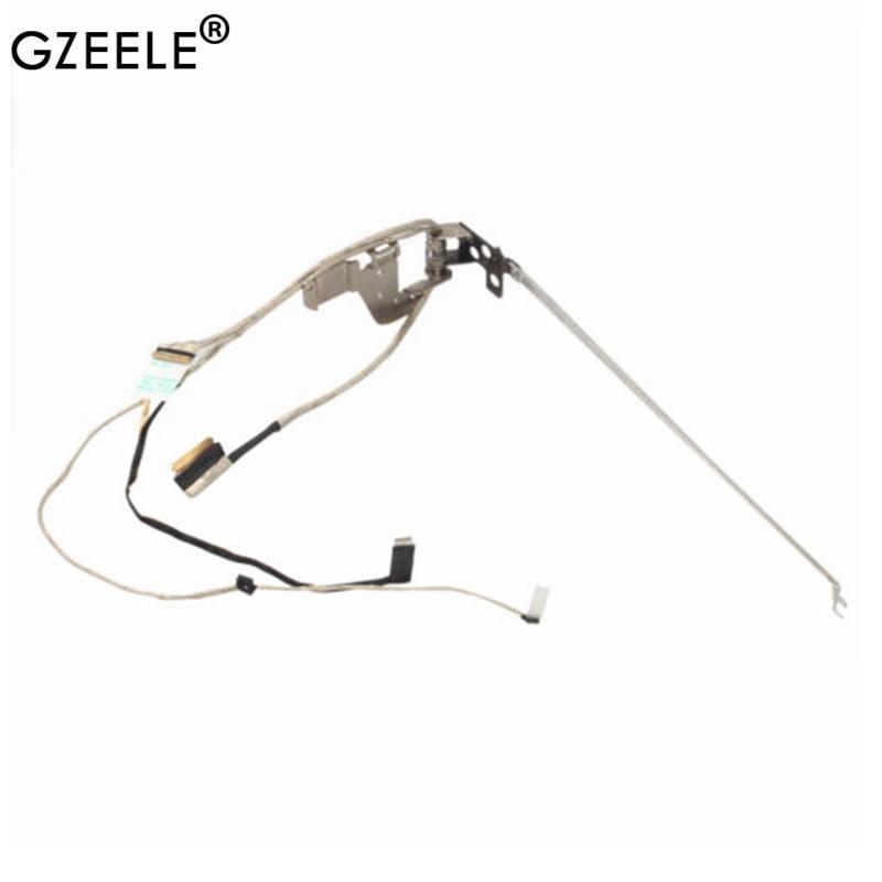 Gzeele 5h50f76792 para lenovo ideapad flex 2-15d 20377 dobradiça conjunto lcd lvds cabo de vídeo tbsz flex 2-15 FLEX2-15 dobradiças lcd portátil