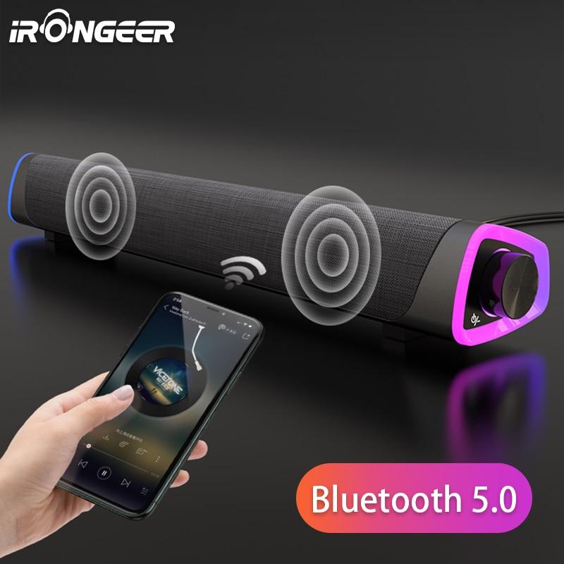 Soundbar For TV Bluetooth Speaker Wired Computer Speakers Barra De Sonido Para Subwoofer Sound bar P