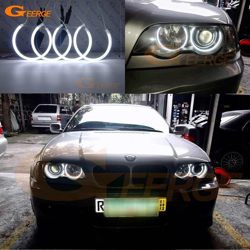 Excelente kit de CCFL tipo Ojo de Ángel anillo Halo de iluminación Ultra brillante para BMW E46 M3 Coupe Convertible 2001-2006