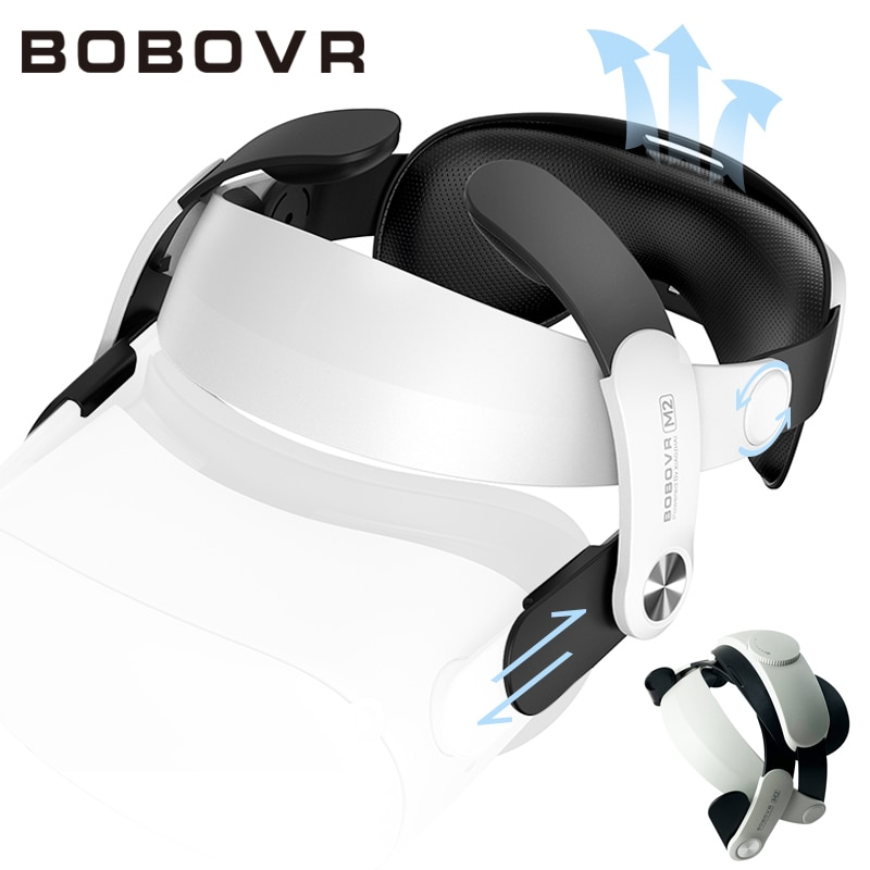 BOBOVR-correa de cabeza ajustable para casco de realidad Virtual Oculus Quest2, accesorios...