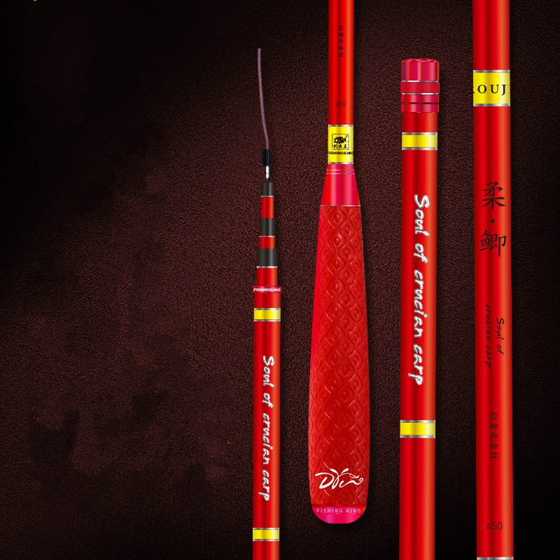 2.1M -5.4M Carp Feeder Fishing Rod Telescopic Ultra-light Hard Carbon Pole Taiwan Wedkarstwo Peche Freshwater Fishing Olta Pesca enlarge
