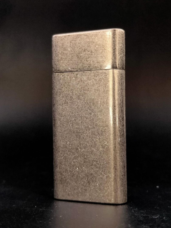 Retro Flint Lighter Free Fire Gasoline Oil Lighter Grinding Wheel Kerosene Cigarette Lighter Metal Ultra Thin Gadgets For Men enlarge