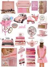 Autocollants de couleur vintage JDM   Autocollant étanche pour enfants, vintage, pour moto, ordinateur portable, bagage, jouet, bricolage