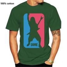 New Dime Dimebag Darrell Sporter Logo Men's T Shirt White 2021 Arrival 2021 Men T Shirt Printing Gif