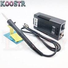 EU plug youyue305 mini Portable Digital soldering station Electric solder iron+T12 tips Heating Core 100~240V better than bk950D