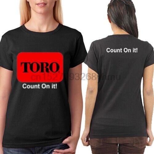 Новая женская хлопковая Футболка с косилками Toro, размеры от S до 3XL