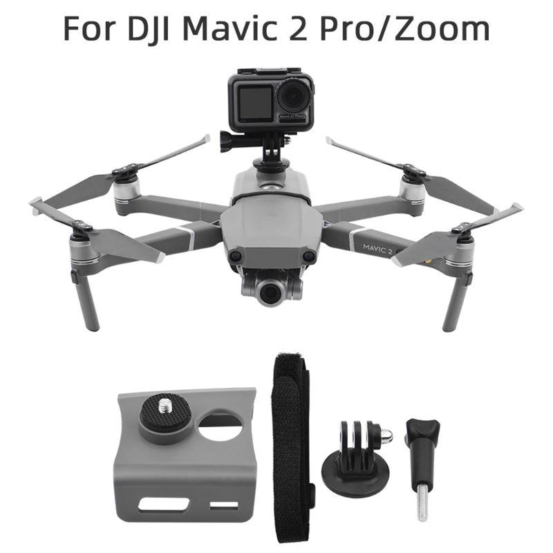 1Set Camera Fill Light Holder Mount Mounting Bracket Expansion Kit with Screw Base for dji MAVIC 2/MAVIC Pro Drone Accessories