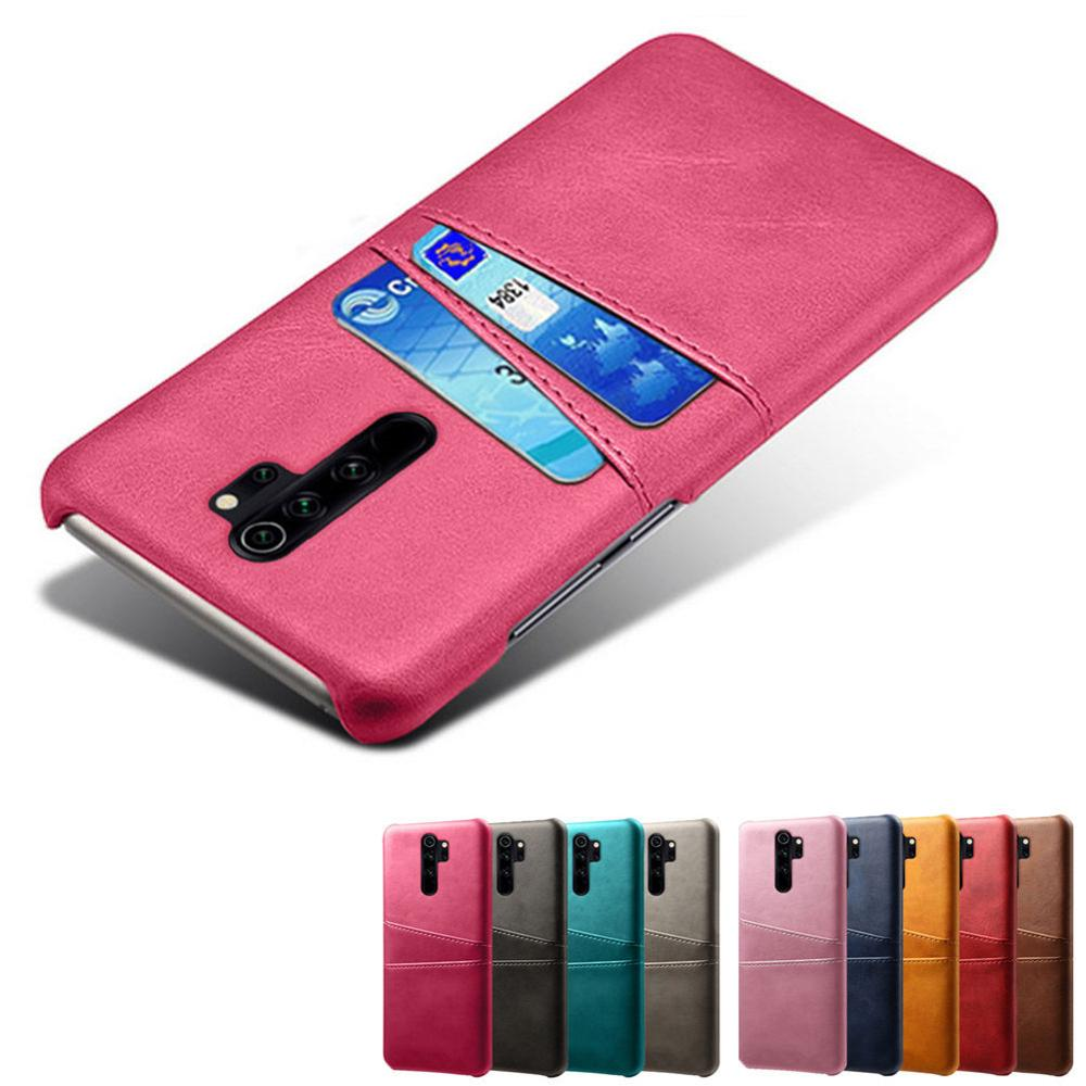 For Xiaomi Redmi Series Note 8 8pro 9s 7 6 Pro Redmi 7A K20 S2 GO 7 6 5 Plus 4A 5A 5plus Card Slots Cover Retro PU Leather Cases