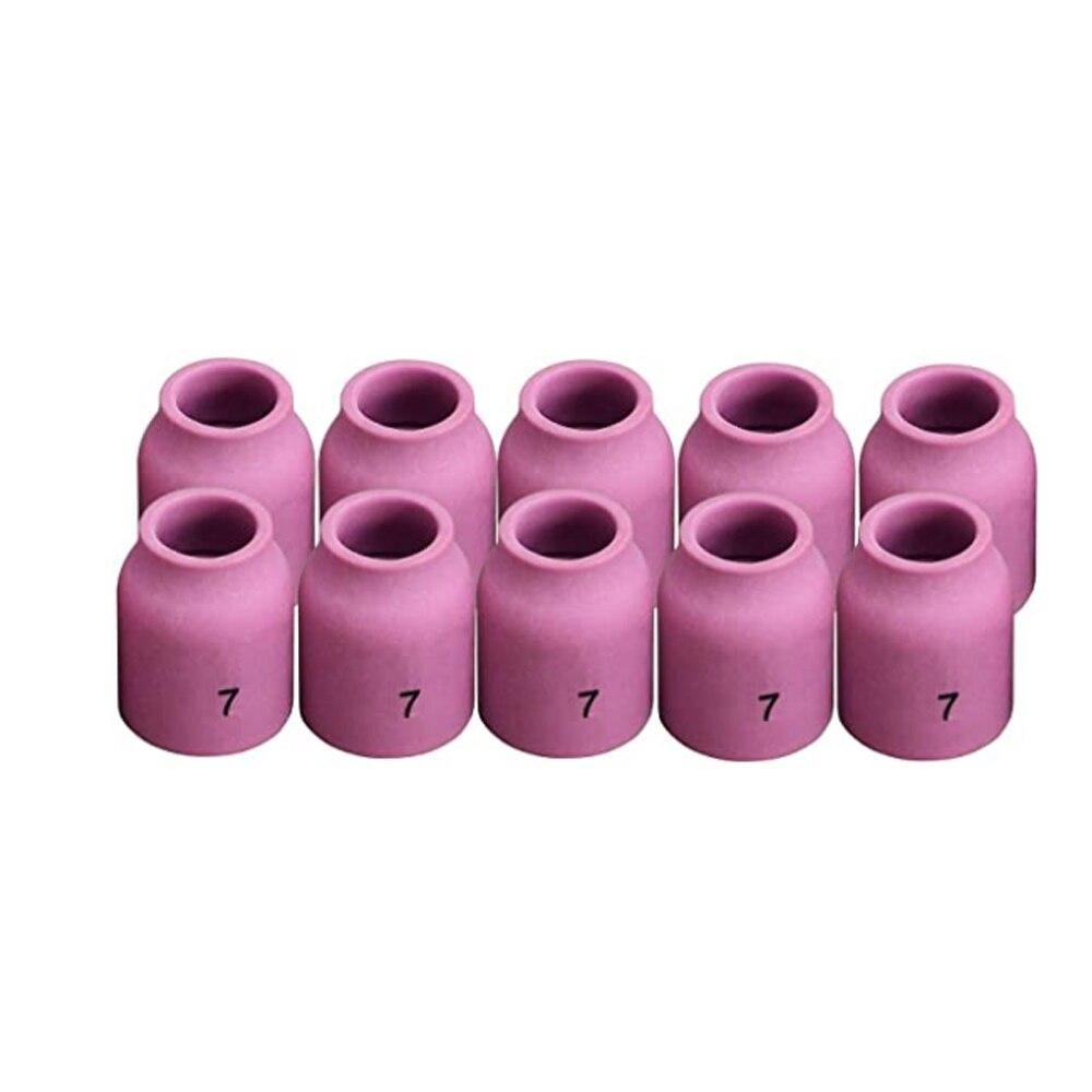 Газовые линзы TIG, глиноземная насадка, керамическая чашка 53N61 7 #7/16
