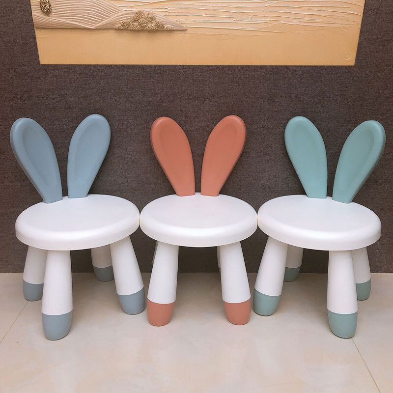 New Home Chair Children Stool Footboard Indoor furniture Children's Stool Toy Sofa Stool Children Chair Cute Pet Rabbit Chair