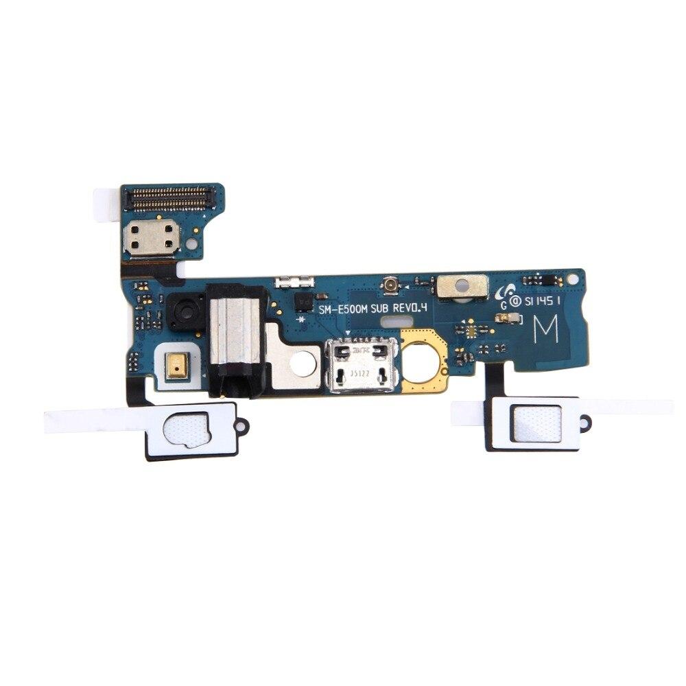 Nuevo puerto de carga Cable flexible para Galaxy E5 / E500M