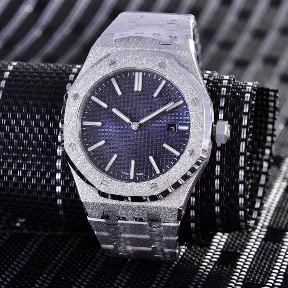 عالية الجودة الفاخرة العلامة التجارية ساعة رجالي ساعة ميكانيكية AAAA الفولاذ المقاوم للصدأ لامعة الأعمال ساعة رجالي