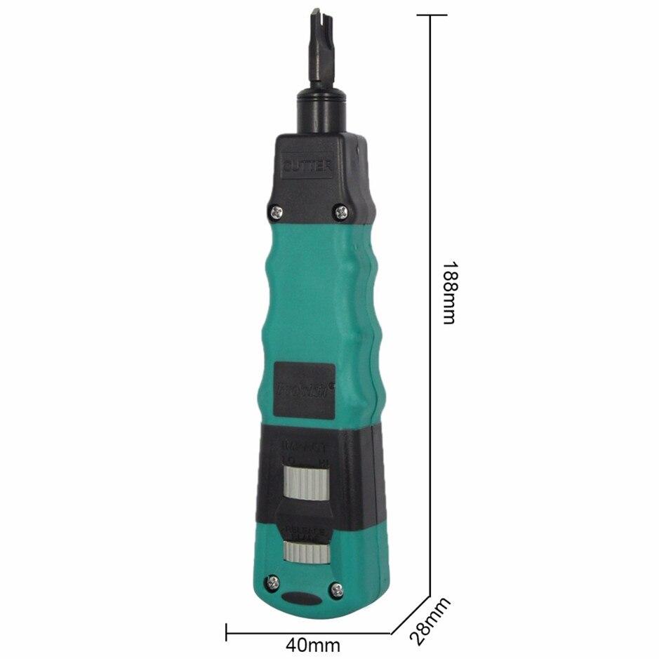 متعددة الوظائف CP-3148 تأثير و أداة توصيل وفصل مع 110/88 و 66 شفرة الأسلاك العقص كماشة أدوات تجعيد الكهربائية
