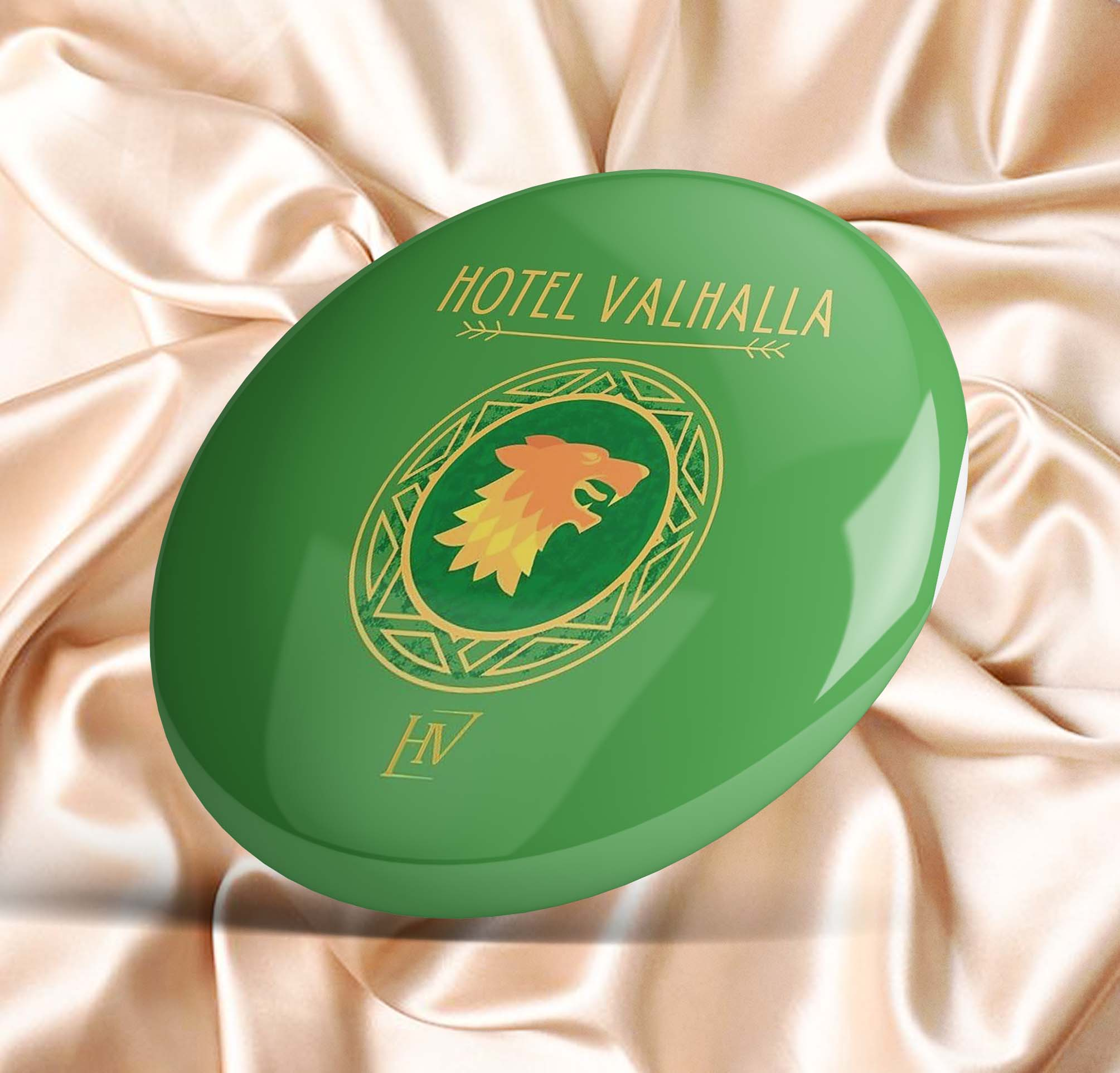 Hotel Valhalla Standard  Soft Enamel Pin Metal Collar Lapel Pin Cute Funny Fashion Badge Women Hat G