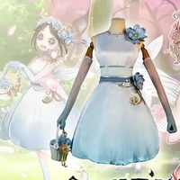 game identity v cosplay costumes survivor emma woods gardener cosplay costume t card skin uniforms clothes wears suits dresses