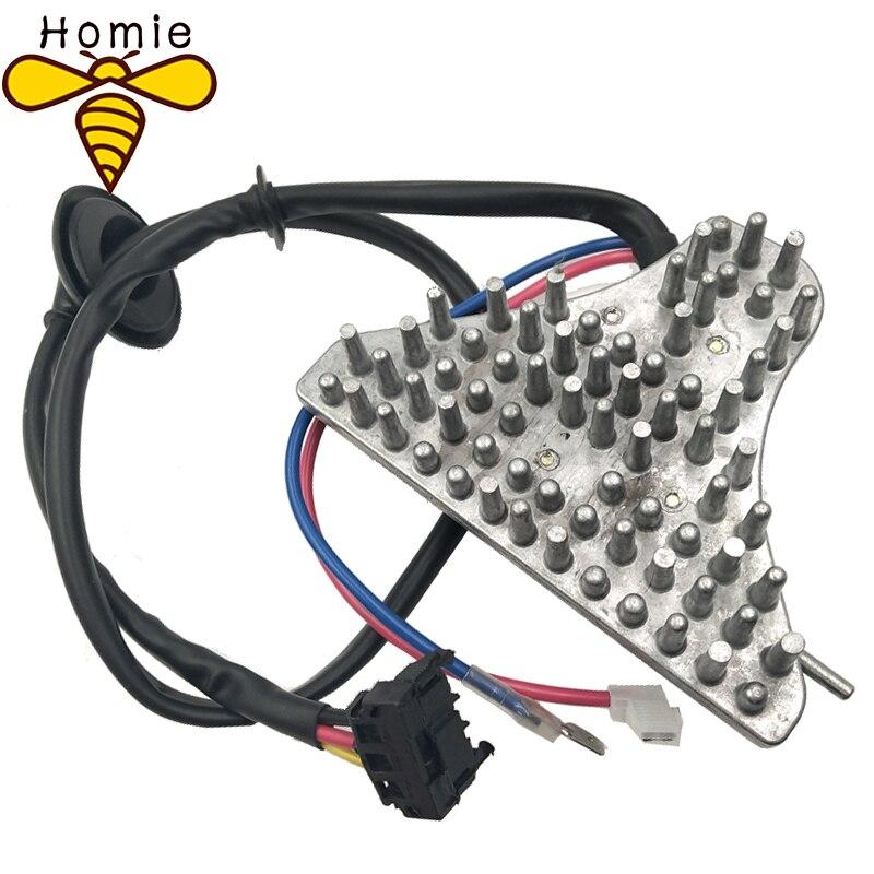 Homie para Mercedes W124 Unidad Reguladora del motor de ventilador del calentador 124 820 27 10/1248202710