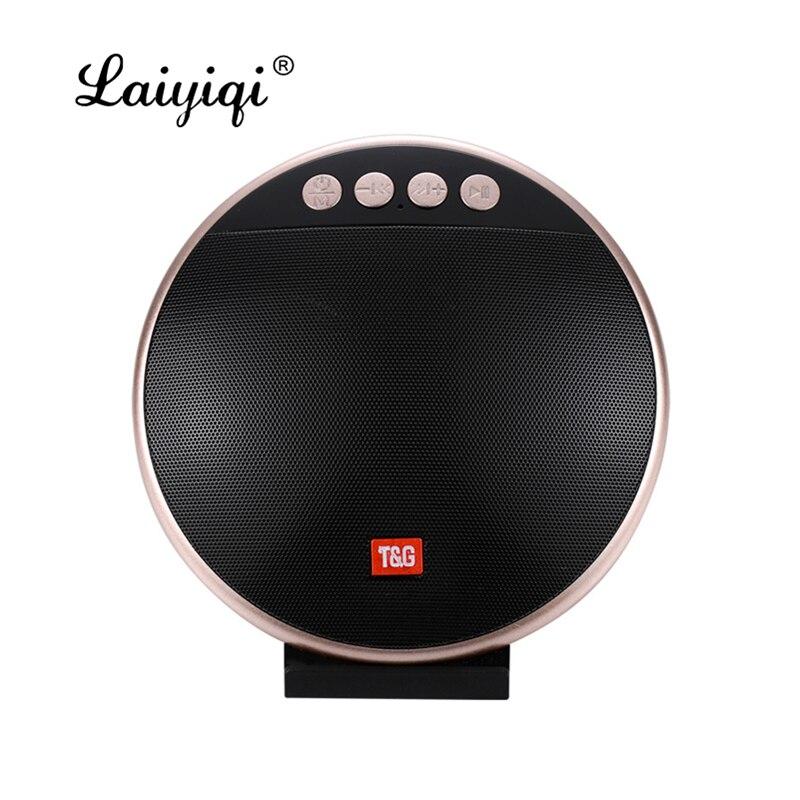 Laiyiqi Bluetooth altavoz portátil soporte para teléfono móvil radio FM caixa som subwoofer activo coche parlante bluetooth
