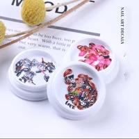 new nail art accessories a variety of single box wood pulp nail art decorations pretty diy manicure patch