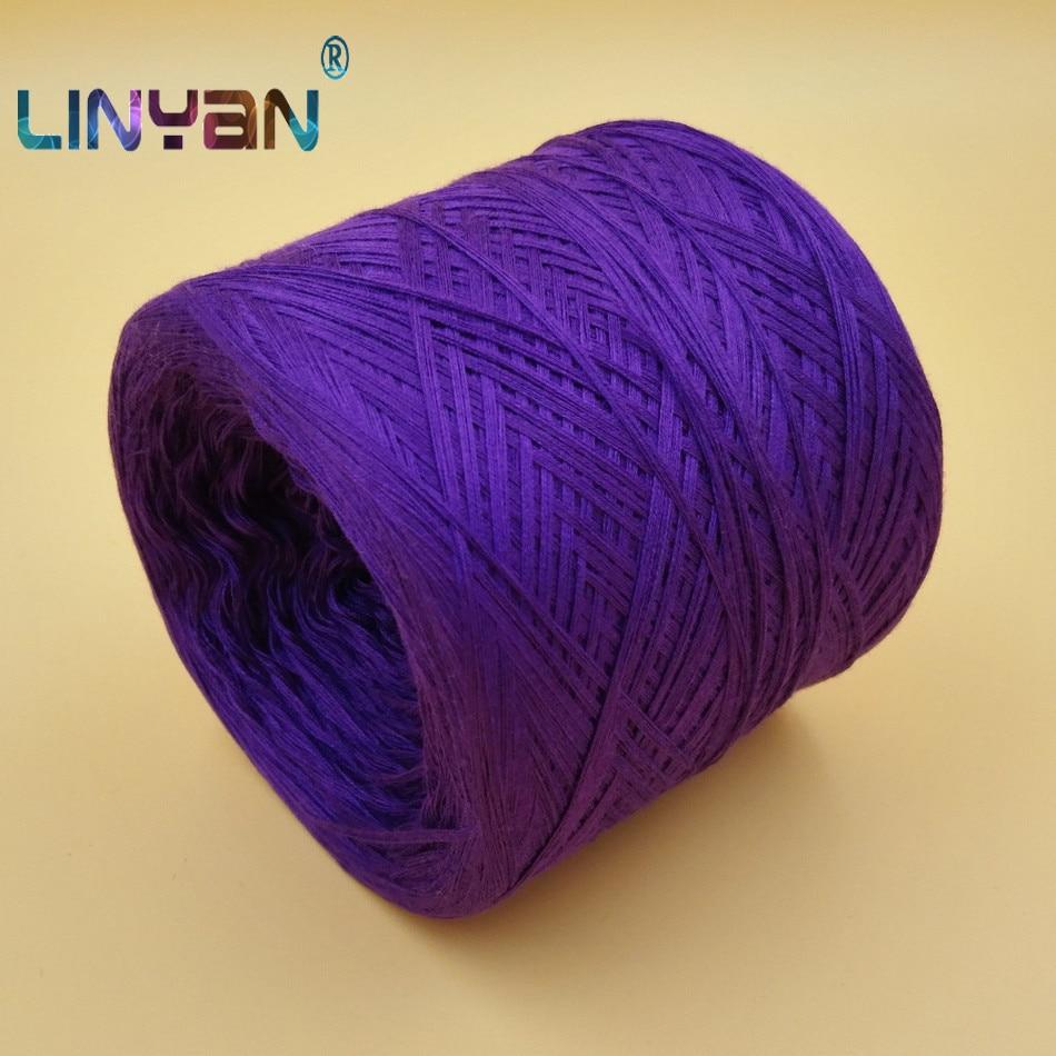 500g Yarns For knitting Hand Wool yarn Summer baby 100% mercerized cotton crochet Thread Wholesale wool balls skein yarn ZL35