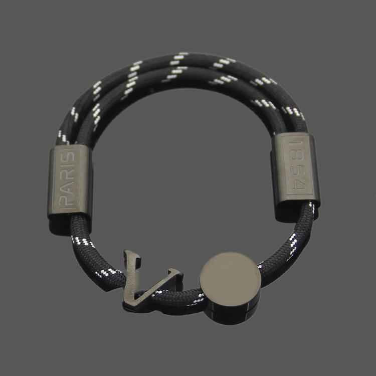 Atacado popular v cor corda pulseira laranja verde azul preto corda puxar-para fora fivela braceletbracelet