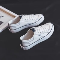 canvas shoes spring and summer 2021 new student board shoes fashion elegant style small white shoes womens korean version