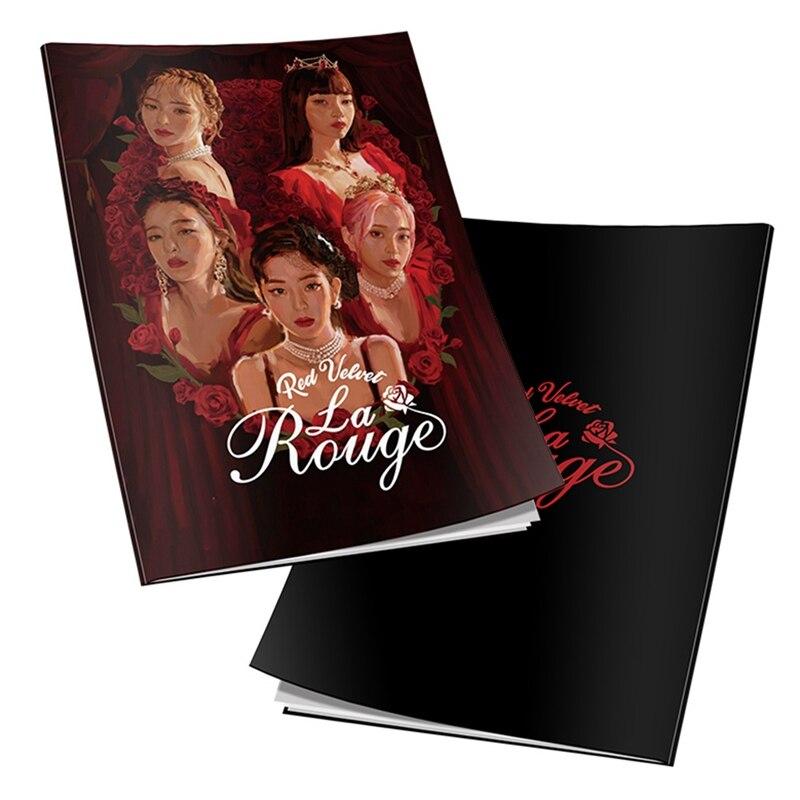 Red Velvet La Rogue Photo Book Irene SeulGi HD Photograph Joy Wendy Kpop Poster Picture