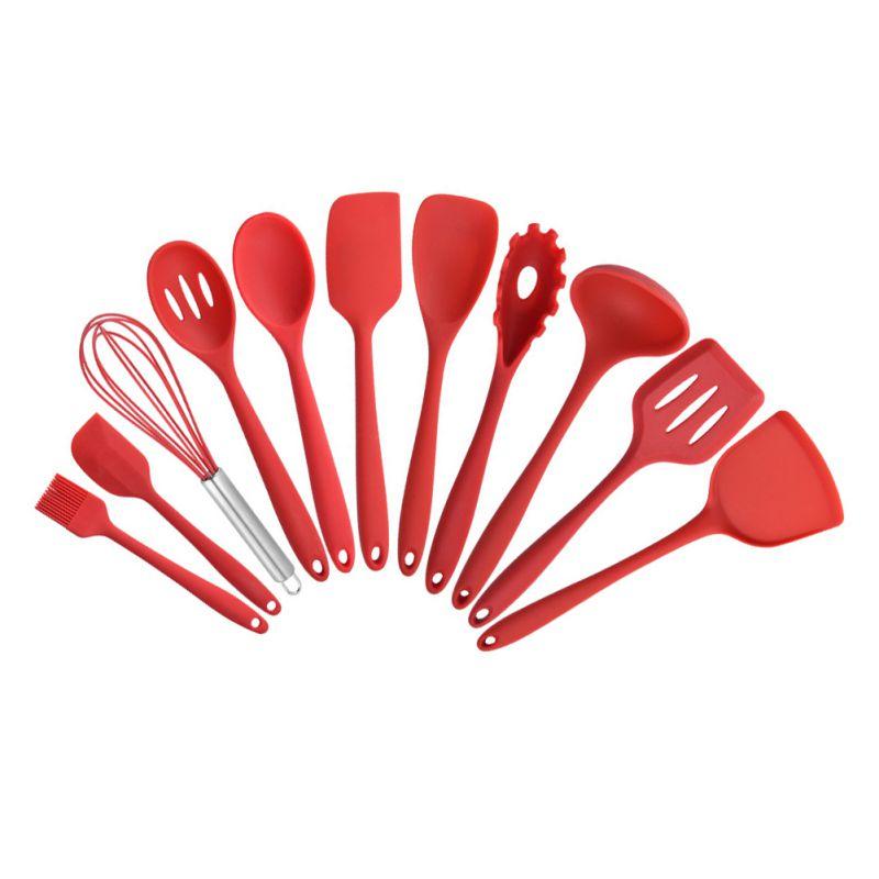Tablewar-طقم أواني طهي سيليكون ، غير لاصق ، أدوات صديقة للبيئة ، 10 قطع