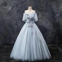 spaghetti strap backless cheongsam flower appliques shawl qipao mesh evening party ball gown dress luxury vestidos de festa