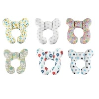 baby neck support pillow infant u shape headrest cushion head protection for travel car seat pushchair accessories