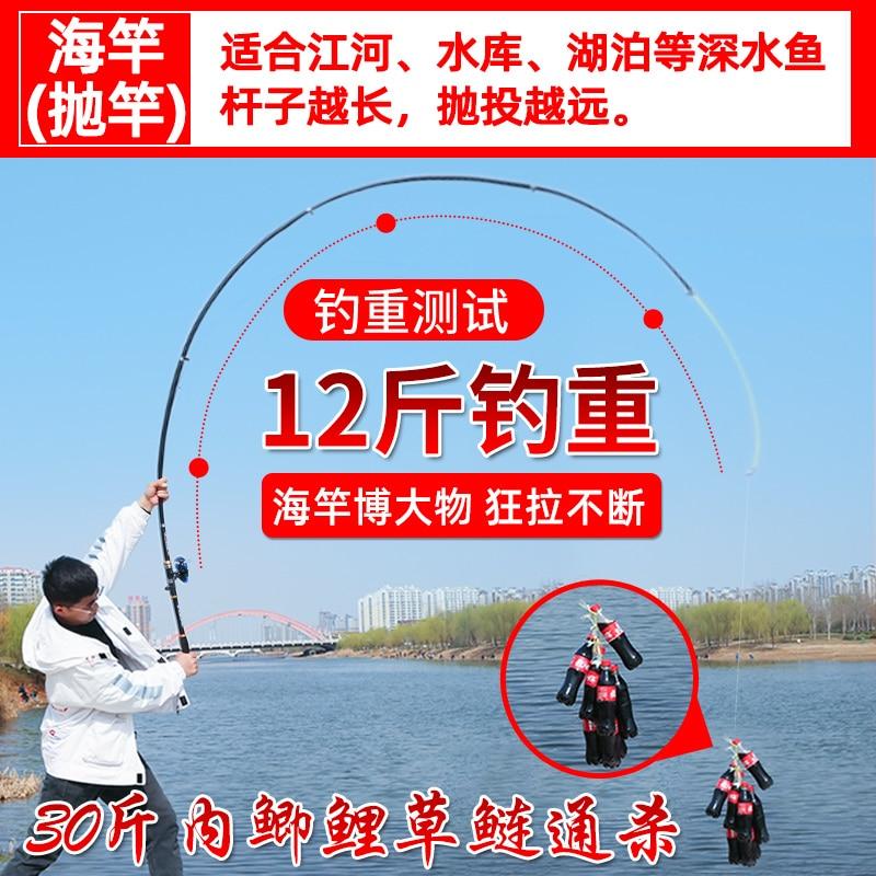 Full Set Storage Fishing Rod Accessories Spinning Complete Set Fishing Rods Combo Fish Lure Float Vara De Pescar Hook HX50RC enlarge