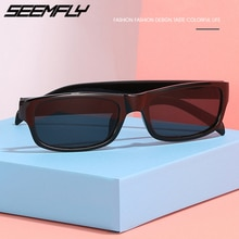 Seemfly New Small Frame Sunglasses Men Women Driving Sun Glasses Vintage Fashion Female Goggle UV400