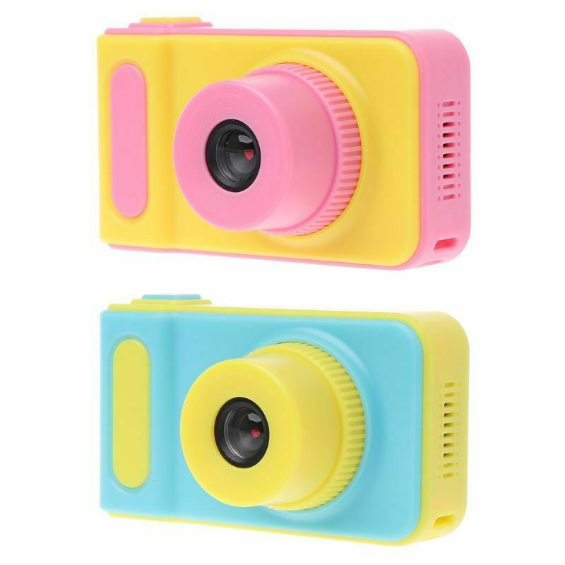 2 inch Screen Mini Digital Camera for Birthday Gift Children Mini Camera Kids Educational Toys 1080P Projection Video Camera