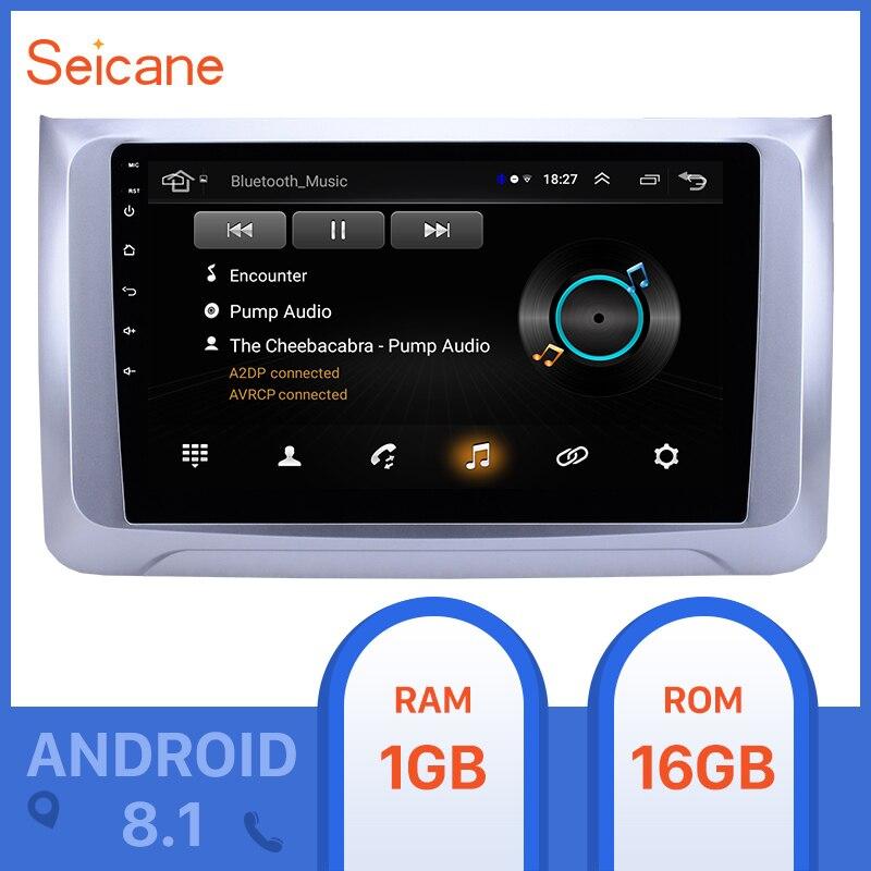 Seicane 2din 10,1 pulgadas Android 8,1 coche GPS Radio para 2016 2017 2018 2019 gran pared Haval H6 2.5D soporte de pantalla TPMS DVR OBDII