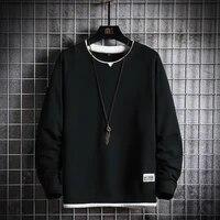 autumn spring hoodies sweatshirt men loose hip hop pullover streetwear male casual fashion korean oversize hoodie sweatshirts