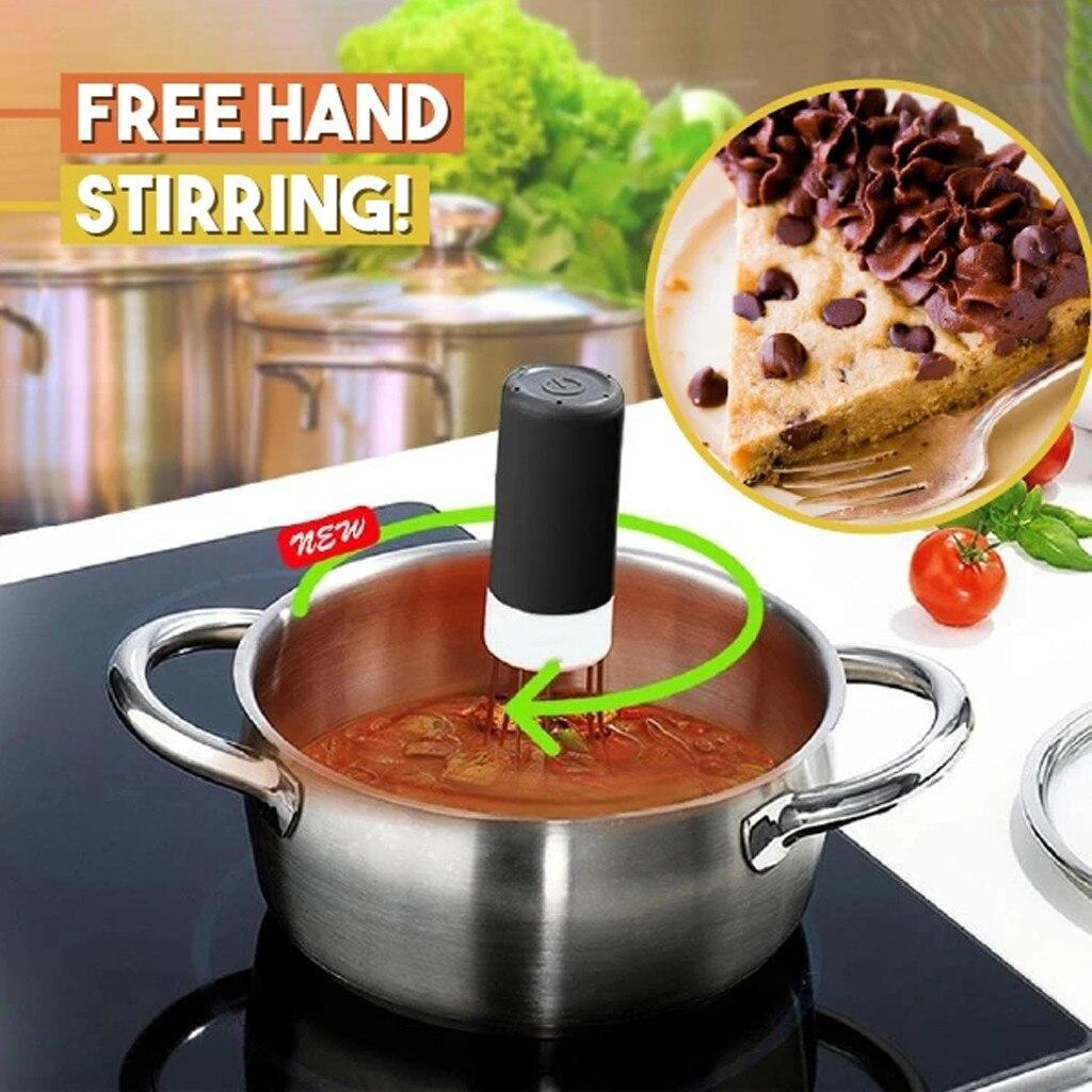 Автоматическая ручная паста Роботизированная Беспроводная мешалка/мешалка для супа, шоколадные Инструменты для торта, трехногий автоматический блендер