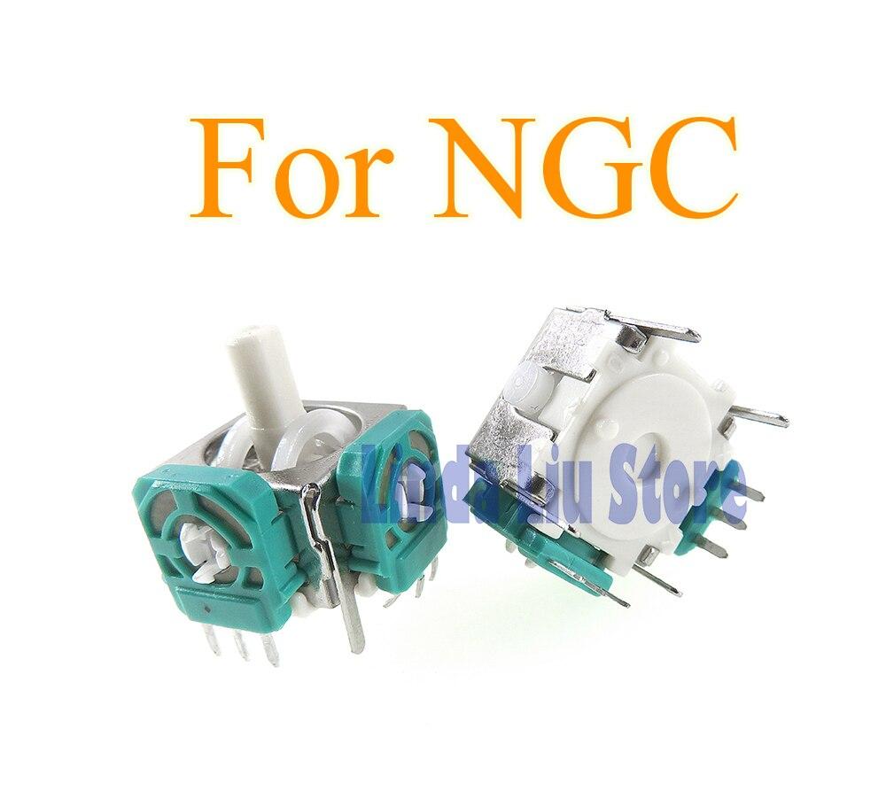 Pieza de accesorios de repuesto nuevo de marca para Sensor de palanca analógico NGC 3D para controlador Gamecube 4 unids/lote