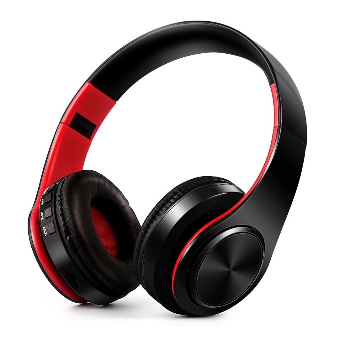 Headphones Bluetooth Headset Earphone Wireless Headphones Stereo Foldable Sport Earphone Microphone Headset Handfree MP3 Player