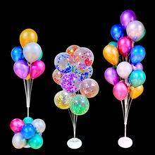 1/2Set Birthday Balloons Stand Holder Column Stick Baloon Wedding Confetti Balloon Party Decoration Kids Baby Shower Globos 2020