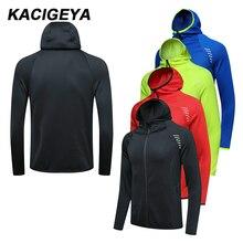 Hommes veste de sport nouveau sweat à capuche gymnase football entraînement manches longues marque sweats courir Jogging manteau à glissière