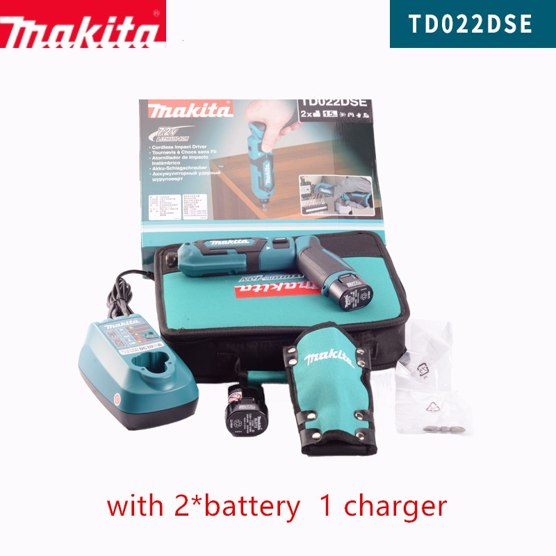 Makita TD022DZ  TD022D TD022DSE Rechargeable Pen Hit  impact driver Blue Body only japan