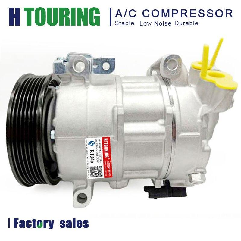 Compresor de aire acondicionado A/C para PEUGEOT 308 1,6 16V 3008 5008 CITROEN C4 / DS4 DCP21014 DCP21011 9659875580 9659875480 4471501740 6PK