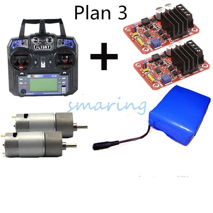 3 pläne Tank Roboter Website Crawler Auto Fernbedienung System High Power DC Motor Control Mit Hohe Drehmoment 550 Motor + batterie Ladung