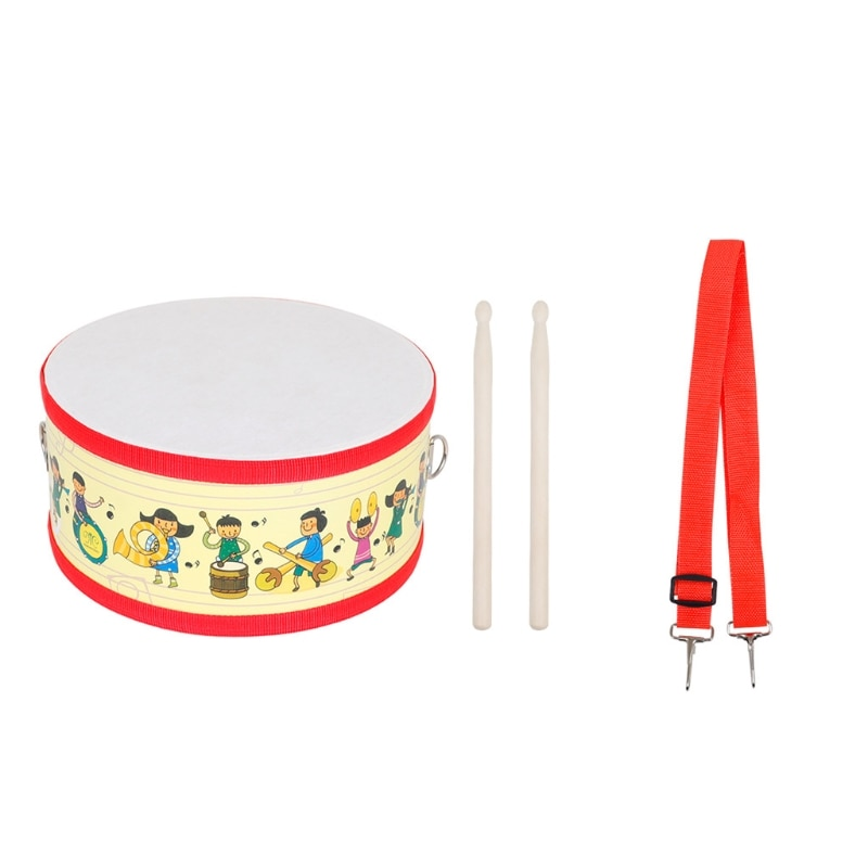 musical toys plastic drum with colorful lights 5 scales key type baby toy for 13 24 months kids educational toys for children Drum Wood Kids Early Educational Musical Instrument For Children Baby Toys