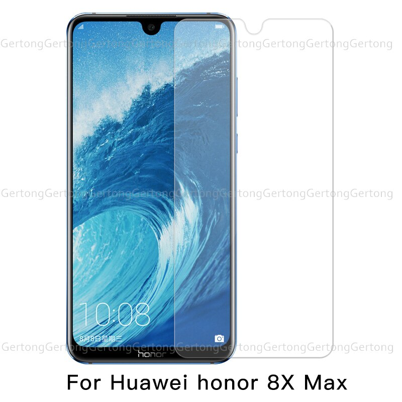 Shockproof screen protection tempered glass For Huawei Honor 8C 8X Max 9 10 8 Lite P20 Lite Pro Mate 20 X Y9 2018  glass film