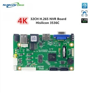 32CH 5MP NVR mainboard security Network Video Recorder H.265 32 Channel 5.0MP support ONVIF Smartphone PC for IP camera