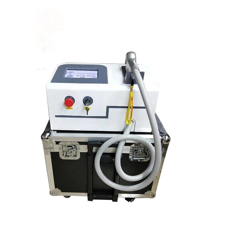 Máquina de depilación láser portátil y rejuvenecimiento de la piel de Láser...