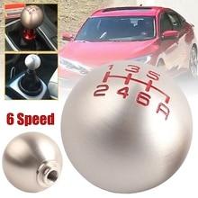 6 Speed Manual Ball Type Aluminum Gear Stick Shift Knob Shifter for Honda